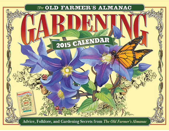 The Farmeru0027s Almanac Calendar Makes A Great Gift As Each Month Has A  Different Hand Painted Picture. Photo Courtesy Of Sunnyside Nursery.