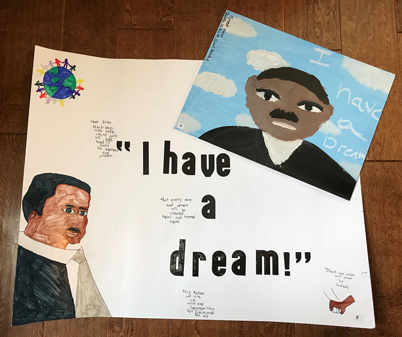 On February 19th, twenty-five Everett Public Schools students were recognized for their submissions to the Dr. Martin Luther King, Jr. Prodigies for Peace contest. Parents and school district teachers, staff, and administrators are very proud of these students' accomplishments.