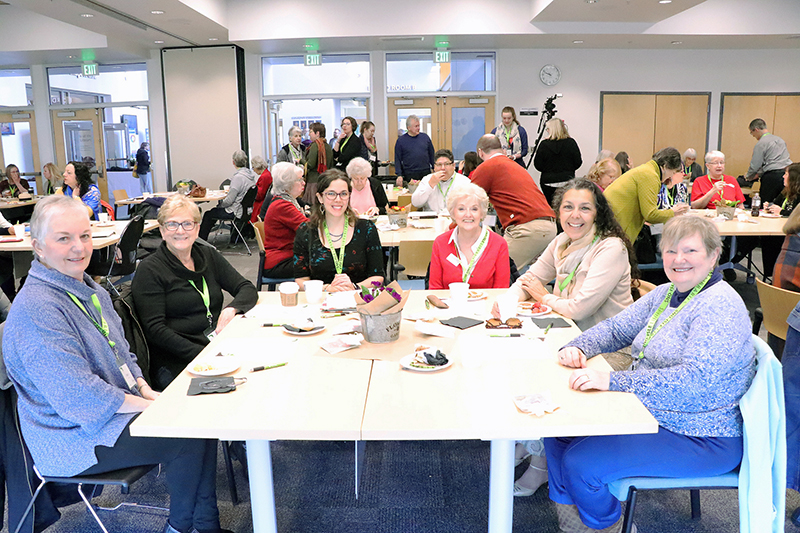 "Members of Friends of the Mill Creek Library joined other ""Friends"" groups at the annual Board and Friends Forum of the Sno-Isle Library System held at the Everett School District Administrative Offices in Everett on March 9th."