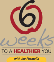 "The ""Six Weeks to a Healthier You"" program led by Joe Piscatella begins May 13, 2013. This program can help you improve your eating and cooking habits, manage your stress, lose weight, and exercise smarter."