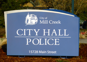 A number of Mill Creek City Councilmembers expressed displeasure with the city's current East Gateway Urban Village land use policies and may decide to impose a new emergency six-month development moratorium. Photo credit: Lesley Van Winkle.