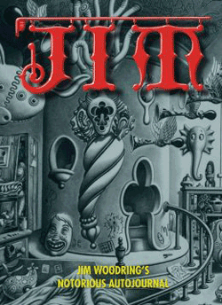 """Jim: Jim Woodring's Notorious Autojournal"" is an ideal entry point to the most revelatory and personal work of this artist, whose work has been described as ""marrying [Pogo creator] Walt Kelly with Salvador Dali,"" and ""filling the gap left between Betty Crocker and Hieronymous Bosch."""