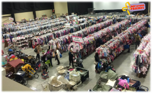 The semi-annual Just Between Friends (JBF) Kid's Consignment Sales Event is scheduled for Thursday, March 19th, through Saturday, March 21st, at the Gold Creek Church in Mill Creek.