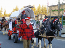 Parking and traffic on Main Street in the Mill Creek Town Center will be restricted on Saturday afternoon, December 7th, for the Santa parade, so please plan ahead.