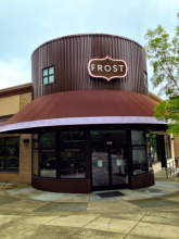 FROST Doughnuts announced that it is doubling its current space with a May 2014 move to a new location in Mill Creek Town Center and expanding its offerings into a dessert lounge, complete with cupcakes, soft serve frozen custard, full service coffee bar with custom FROST roast and more.