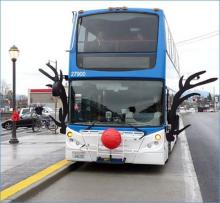 Community Transit will operate limited bus service on Christmas Eve and New Year's Eve. The transit agency will operate on a Sunday schedule on Christmas and New Year's Day.