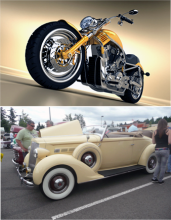 For the first time Kla Ha Ya Days offers a combined car and motorcycle show in Downtown Snohomish. The Show & Shine event is free to Kla Ha Ya Days attendees on Sunday, July 19, 2015, from 10 am to 4 pm, rain or shine.