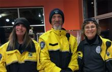 Members of the city's Citizen Patrol are taking to the streets of Mill Creek Town Center as a way to establish a positive presence and deter illegal activity. Wednesday, November 20, 2019, was the first day of this new foot patrol program.
