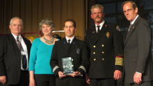 Snohomish County Fire District 1 has just been honored with the national Excellence in Fire Service-Based EMS Award presented by the Congressional Fire Services Institute and the MedicAlert Foundation.