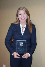 Snohomish Police Department's Detective Kendra Conley was awarded the 2014 Crisis Intervention Team Supervisor/Coordinator award this month for her work in crisis intervention.