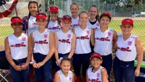 The Mill Creek majors division softball team beat Southern California 3-2 with a walk off single to advance to the Little League Softball West Region semifinals on Wednesday, July 24, 2109.