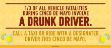 The Snohomish County DUI and Target Zero Task Force will be conducting DUI emphasis patrols Saturday, May 4, 2019, from 7:00 pm through 3:00 am. The patrols coincide with anticipated Cinco de Mayo celebrations.
