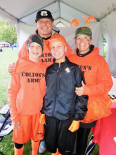 14-year-old Colin Matter and his family. Photo courtesy of the Matter family.
