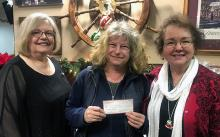 With funds earned from our 2019 Garden Tour, Mill Creek Garden Club recently awarded a nice chunk of cash to the Farmer Frog organization in support of Discovery and Olivia Park Elementary Schools' garden activities.  The grant will be used for raised beds, benches, seeds, compost, fruit tree and shrub starts, and gardening tools.