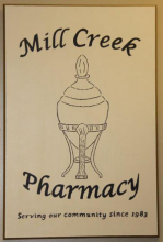 After having served the Mill Creek community for 31 years, the Mill Creek Pharmacy will close its doors for good on October 14, 2014.