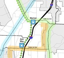 Snohomish County's Light Rail Communities project is seeking input the public regarding future planning decisions for areas near planned light rail stations in unincorporated Snohomish County. The online survey is available until May 8, 2020.