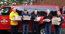 Firefighters and staff at Snohomish County Fire District 7 helped support fifteen local families this holiday season.
