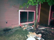 Snohomish County Fire District 7 was dispatched to a Mill Creek apartment fire in the 1100 block of 156th Place SE just before 12:30 am on Thursday, August 21, 2014.