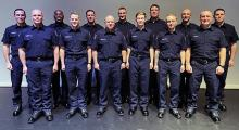 Thirteen South County Fire and Rescue recruits graduated from the Snohomish County Fire Training Academy in a ceremony on Thursday, December 19, 2019. They will will now complete three weeks of additional fire and emergency medical operations training.