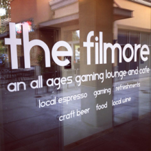 The Filmore is an entertainment and gaming lounge in the Mill Creek Town Center.